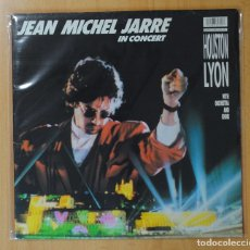 Discos de vinilo: JEAN MICHEL JARRE - IN CONCERT HOUSTON LYON - LP. Lote 143590340