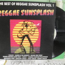 Discos de vinilo: THE BEST OF REGGAE SUNSPLASH VOL 1 LP 1990 PEPETO. Lote 143591918