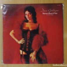 Discos de vinilo: DANA GILLESPIE - WERENT BORN A MAN - LP. Lote 143592266