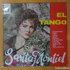 Discos de vinilo: SARITA MONTIEL - EL TANGO - LP. Lote 143592684