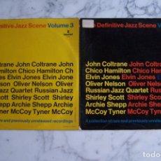 Discos de vinilo: LP THE DEFINITIVE JAZZ SCENE. VOLUME 3. JOHN COLTRANE, CHICO HAMILTON, ELVIN JONES, ARCHIE SHEPP.... Lote 143593494