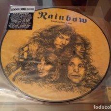 Discos de vinilo: RAINBOW LONG LIVE ROCK 'N' ROLL' PICTURE DISC RSD 2012 NIJI ED LTD DIO DEEP PURPLE. Lote 143596106