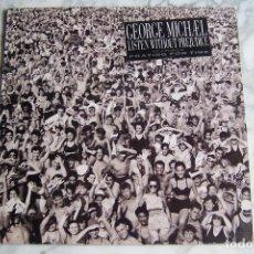 Discos de vinilo: LP GEORGE MICHAEL. LISTEN WITHOUT PREJUDICE.. Lote 143598838