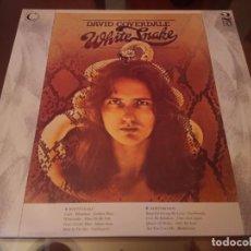 Discos de vinilo: DAVID COVERDALE WHITESNAKE & NORTHWINDS 2LP CONNOISSEUR 1988 DEEP PURPLE. Lote 143600286