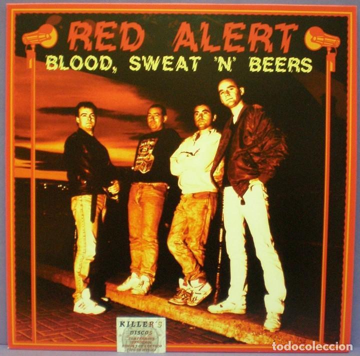 RED ALERT - BLOOD, SWEAT 'N' BEERS - LP (Música - Discos - LP Vinilo - Punk - Hard Core)