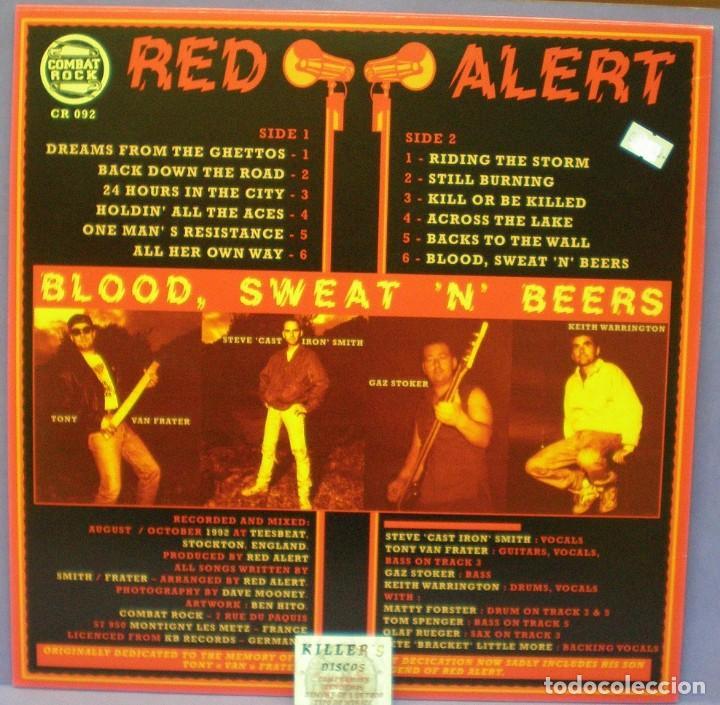 Discos de vinilo: Red Alert - Blood, Sweat 'n' Beers - LP - Foto 2 - 143601230