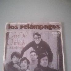 Discos de vinilo: LOS RELÁMPAGOS - CAFE DE CHINITAS (SINGLE). Lote 143605110