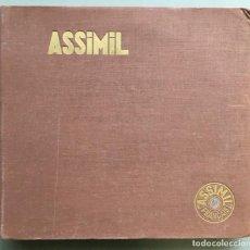 Discos de vinilo: ALBUM CON 5 DISCOS DE VINILO, LONG PLAYING CON EL CURSO DE FRANCES -LE FRANÇAIS SANS PEINE- . Lote 143611938