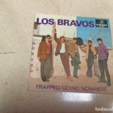 Discos de vinilo: LOS BRAVOS- TRAPPED/ GOING NOW HERE . Lote 143619438