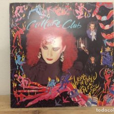 Discos de vinilo: LP CULTURE CLUB, WAKING UP WITH THE HOUSE ON FIRE. Lote 143623122
