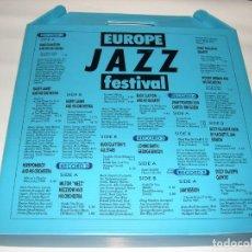 Discos de vinilo: EUROPE JAZZ FESTIVAL BOX 5 LP . Lote 143624834