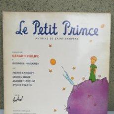 Discos de vinilo: LE PETIT PRINCE - 1954 - DISQUES FESTIVAL - ANTOINE DE SAINT-EXUPÉRY - FRANCE - EL PRINCIPITO DISCO. Lote 143628816