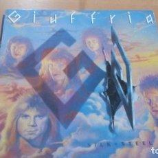 Discos de vinilo: GIUFFRIA SILK + STEEL LP. Lote 143629670
