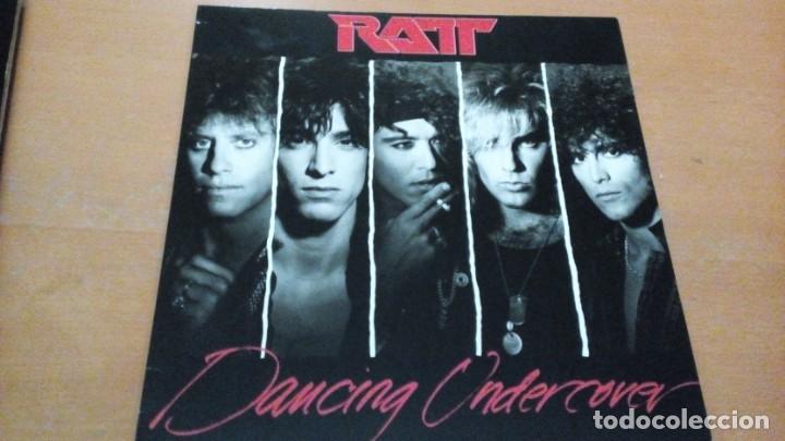 RATT DANCING UNDERCOVER LP INSERTO (Música - Discos - LP Vinilo - Heavy - Metal)
