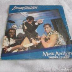Discos de vinilo: IMAGINATION MUSIC AND LIGHTS . Lote 143637046
