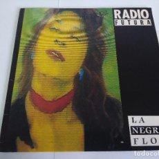 Discos de vinilo: VINILO-MAXI/RADIO FUTURA/LA NEGRA FLOR.. Lote 143637410
