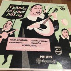 Discos de vinilo: CUANDO LOS TUBOS PASAN - EP. Lote 143642290