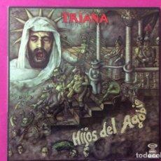 Discos de vinilo: TRIANA - HIJOS DEL AGOBIO. Lote 143643854