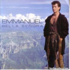 Discos de vinilo: EMMANUEL BELLA SEÑORA SINGLE SIDED, PROMO SPAIN 1990. Lote 143649542