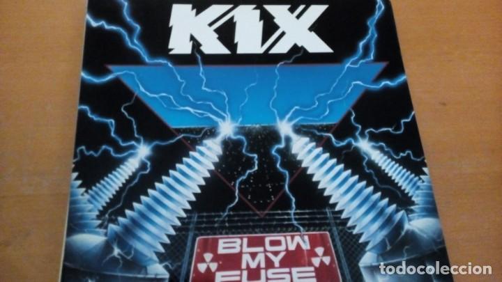 KIX BLOW MY FUSE LP (Música - Discos - LP Vinilo - Heavy - Metal)