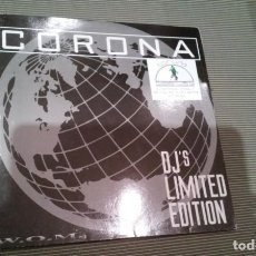 Discos de vinilo: CORONA-THE POWER OF LOVE.MAXI ITALIA. Lote 143651374