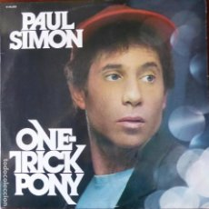Discos de vinilo: DISC-107. PAUL SIMON. ONE TRICK PONY. WB RECORDS. AÑO 1980. Lote 143653270