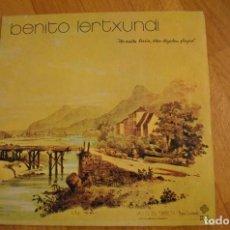 Discos de vinilo: BENITO LERTXUNDI - ETA MAITA BERRIA.... LP 1975 VINYL ARTESI. Lote 143655198