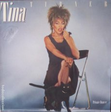 Discos de vinilo: DISC-111. TINA TURNER. PRIVATE DANCER. CAPITOL RECORDS. AÑO 1984.. Lote 143657662