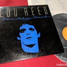 Discos de vinilo: LOU REED THE BLUE MASK LP 1982 RCA ESPAÑA SPAIN. Lote 143660982