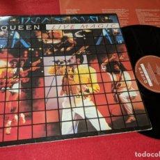 Discos de vinilo: QUEEN LIVE MAGIC LP 1986 EMI GATEFOLD ESPAÑA SPAIN. Lote 143661182