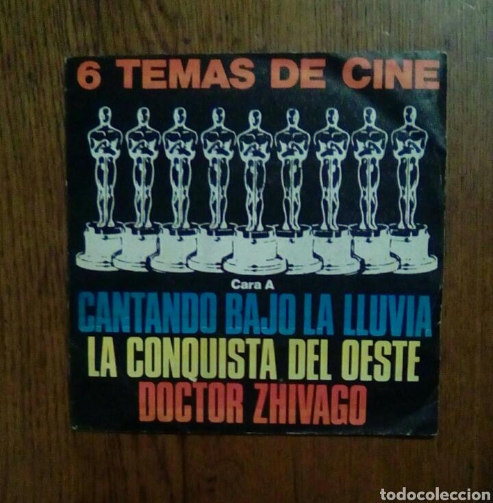 6 TEMAS DE CINE - EP 33 RPM, 1980, POLYDOR. SPAIN. (Música - Discos de Vinilo - EPs - Bandas Sonoras y Actores)