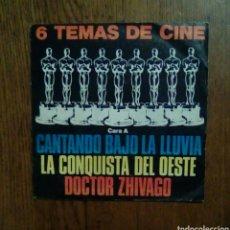 Discos de vinilo: 6 TEMAS DE CINE - EP 33 RPM, 1980, POLYDOR. SPAIN.. Lote 143661206