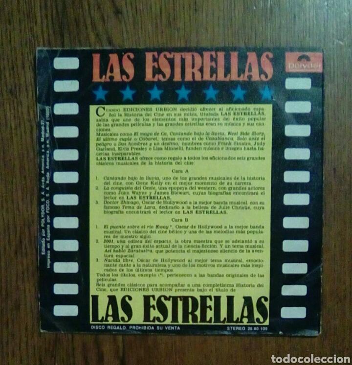 Discos de vinilo: 6 Temas de cine - ep 33 rpm, 1980, Polydor. Spain. - Foto 2 - 143661206