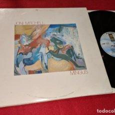Discos de vinilo: JONI MITCHELL MINGUS LP 1979 ASYLUM RECORDS GATEFOLD GERMANY ALEMANIA. Lote 143661454