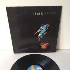 Discos de vinilo: THE FIXX - REACT - LP 1987 GERMANY. Lote 143661470