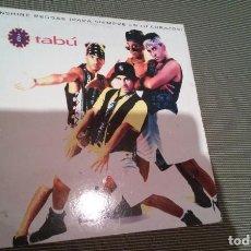 Discos de vinilo: TABÚ-SUNSHINE REGGAE.MAXI. Lote 143661542
