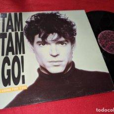 Discos de vinilo: TAM TAM GO! I COME FOR YOU MANUEL RAQUEL/NORMA JEAN MX 12'' 1988 TWINS ESPAÑA SPAIN. Lote 143661670