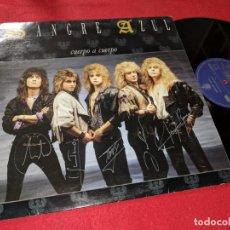 Discos de vinilo: SANGRE AZUL CUERPO A CUERPO LP 1988 HISPAVOX ESPAÑA SPAIN. Lote 143661834