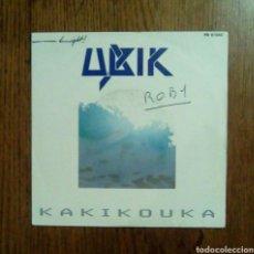 Discos de vinilo: UBIK - KAKIKOUKA, RCA, 1983. FRANCE.. Lote 143661869