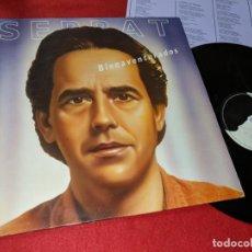 Discos de vinilo: JOAN MANUEL SERRAT BIENAVENTURADOS LP 1987 ARIOLA ESPAÑA SPAIN. Lote 143662290