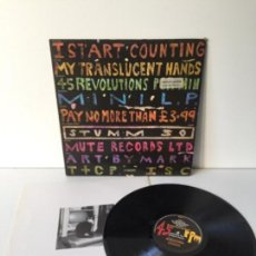 Discos de vinilo: I START COUNTING - MY TRANSLUCENT HANDS - 1986 MINILP . Lote 143662842