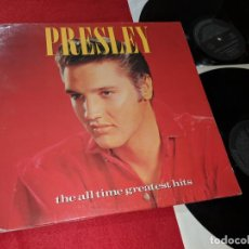 Discos de vinilo: ELVIS PRESLEY THE ALL TIME GREATEST HITS 2LP 1988 RCA GATEFOLD ESPAÑA SPAIN. Lote 143664390