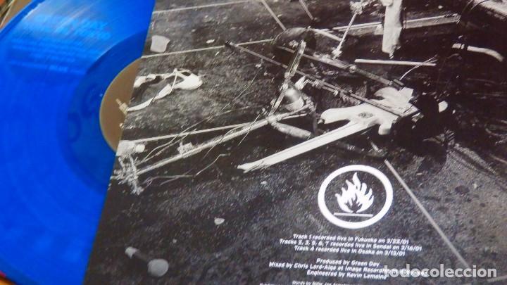 Discos de vinilo: GREEN DAY * LP Record Store Day 2014 * TUNE IN TOKYO * LTD Vinilo azul + cupón descarga Precintado!! - Foto 4 - 143664810