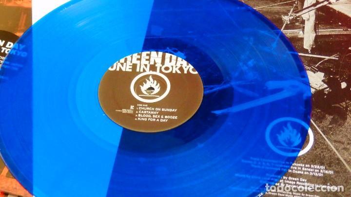 Discos de vinilo: GREEN DAY * LP Record Store Day 2014 * TUNE IN TOKYO * LTD Vinilo azul + cupón descarga Precintado!! - Foto 5 - 143664810