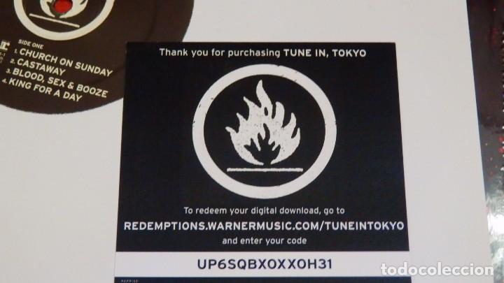 Discos de vinilo: GREEN DAY * LP Record Store Day 2014 * TUNE IN TOKYO * LTD Vinilo azul + cupón descarga Precintado!! - Foto 7 - 143664810