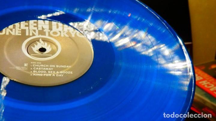 Discos de vinilo: GREEN DAY * LP Record Store Day 2014 * TUNE IN TOKYO * LTD Vinilo azul + cupón descarga Precintado!! - Foto 8 - 143664810