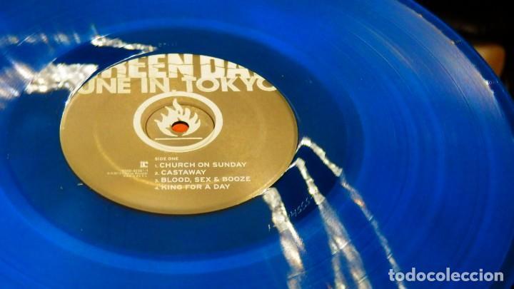 Discos de vinilo: GREEN DAY * LP Record Store Day 2014 * TUNE IN TOKYO * LTD Vinilo azul + cupón descarga Precintado!! - Foto 9 - 143664810