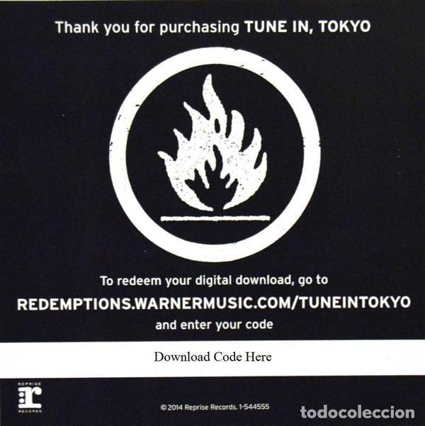 Discos de vinilo: GREEN DAY * LP Record Store Day 2014 * TUNE IN TOKYO * LTD Vinilo azul + cupón descarga Precintado!! - Foto 13 - 143664810