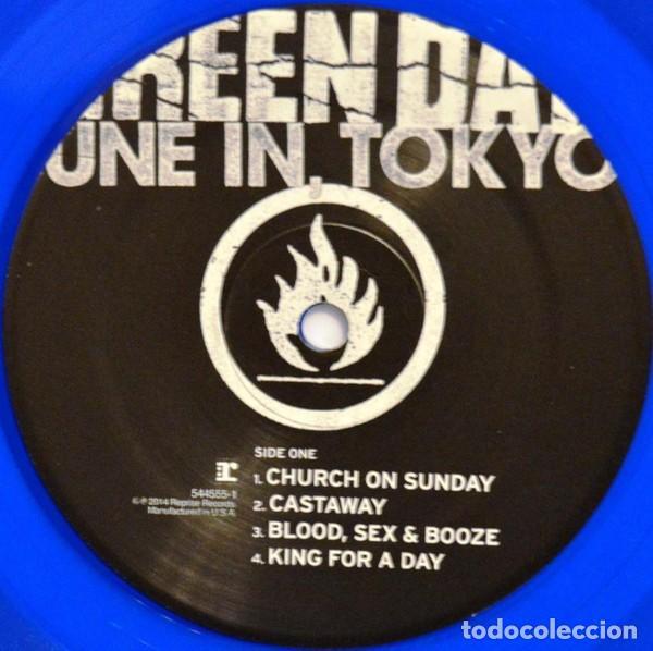 Discos de vinilo: GREEN DAY * LP Record Store Day 2014 * TUNE IN TOKYO * LTD Vinilo azul + cupón descarga Precintado!! - Foto 15 - 143664810