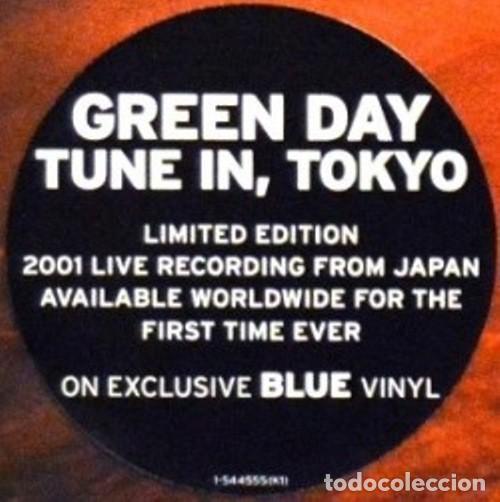 Discos de vinilo: GREEN DAY * LP Record Store Day 2014 * TUNE IN TOKYO * LTD Vinilo azul + cupón descarga Precintado!! - Foto 16 - 143664810